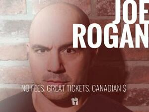 TIKTIKS | Joe Rogan Sept 29th @ Ricoh Coliseum | Cheaper than StubHub CAD$. No Fees. Canadian Company!