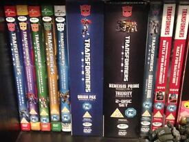 Transformers Prime complete collection DVD