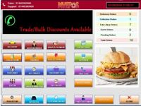 Complete EPOS Software for Takeaway Restaurant Pizza Shop Newsagents E-Cig etc
