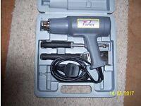 heat gun includes nozzles & scrapers