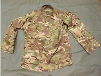 Army Issue MTP (multi Terrain pattern) Shirt / Jacket (C)