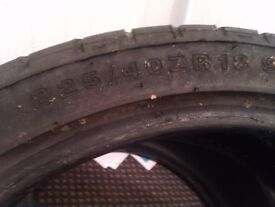 tyres r18 225/40