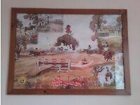 Framed Thelwell pony print
