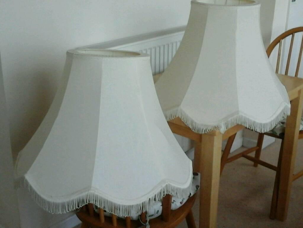 2 large standard lamp shades in folkestone kent gumtree 2 large standard lamp shades aloadofball Choice Image