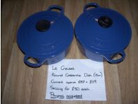 Le Creuset - Various Pans for sale. Never used - great condition. See description for details.