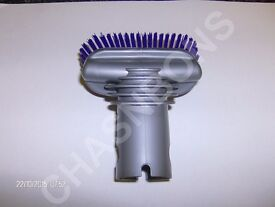 DYSON STUBBORN DIRT BRUSH (LIGHT STEEL) NEW