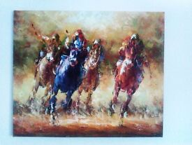 TRULY STUNNING ORIGINAL REAL OIL ON CANVAS PAINTING SIGNED BY ARTIST, PHOTO, PICTURE