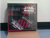 Limited Edtion Star Wars Chess Set