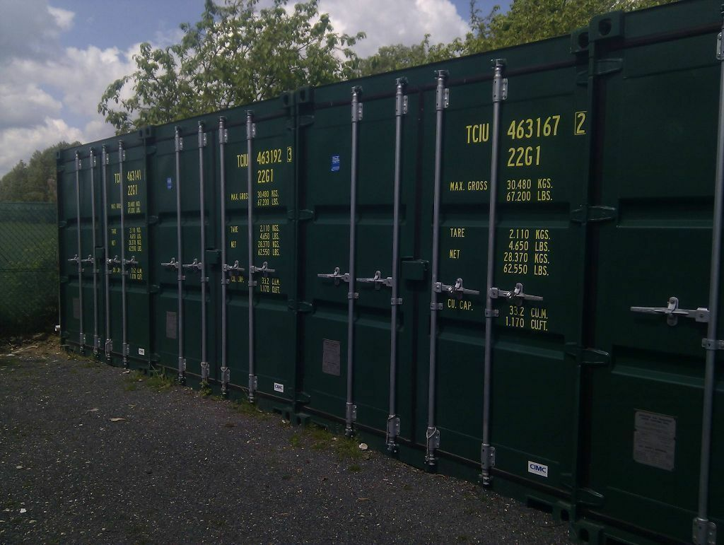 Storage Containers For Rent Price Part - 30: Self Storage - 40ft Storage Containers To Rent At Discounted Price -  Witham, Maldon,