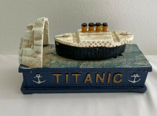 Collectible Metal Movable Titanic Bank