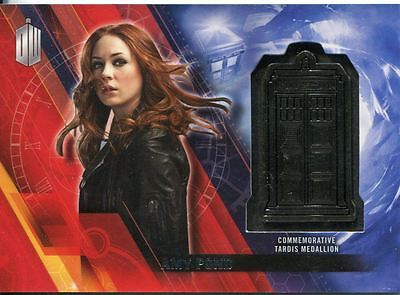 Doctor Who Timeless Silver Parallel [##/25] Tardis Card Amy Pond
