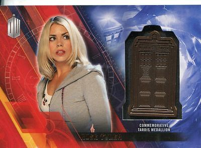 Doctor Who Timeless Bronze Parallel [###/150] Tardis Card Rose Tyler