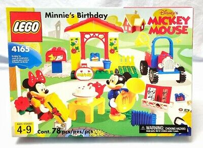 LEGO DISNEY MICKEY'S CAR GARAGE 4166 MICKEY MOUSE NEW