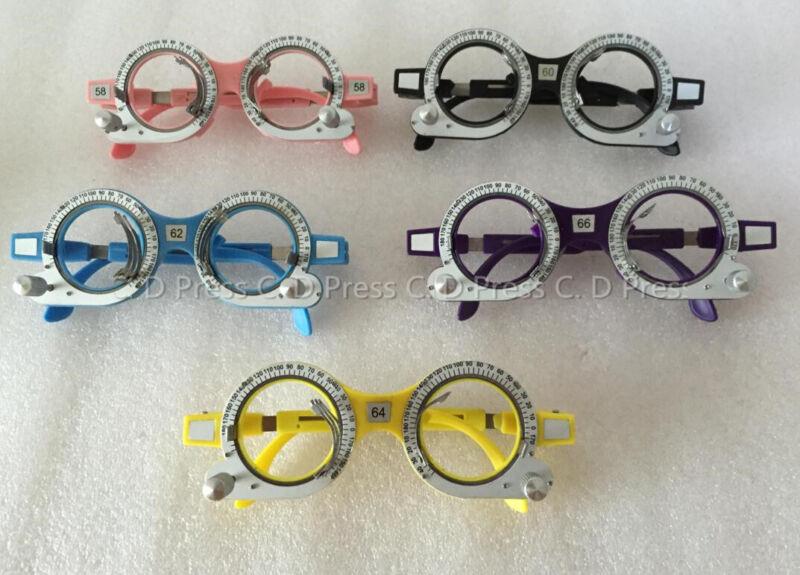 New 5 Pcs Color Optical Lens Trial Frame Eyeglass Optometry