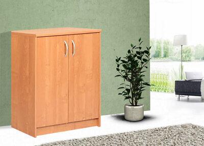 Kommode Erle (Modern Kommode Sideboard Anrichte 74cm Wohnzimmer Mehrzweckschrank Erle 162162)