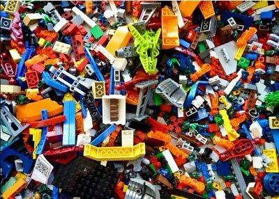 1kg - 1000g Lego Bundle Mixed Bricks Parts Pieces Job Lot FREE UK POST