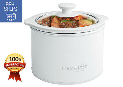 Mini Crock Pot Slow Cooker Portable Best Small Size Dipper 1.5Q Easy Cook (Best Small Slow Cooker)