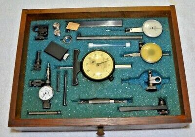 Lot- Mitutoyo Federal Dial Bore Gauge.0005 Machinist Used