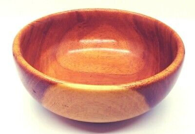 Vintage Aspen Wood Bowl Hand Crafted
