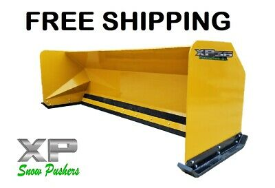 10 Xp36 Snow Pusher Boxes Backhoe Loader Express Steel Free Shipping-rtr