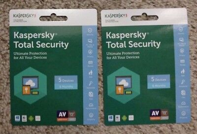Kaspersky Total Security 5 DEVICES /1 year 24 Hour FAST Email Delivery for sale  Shipping to South Africa