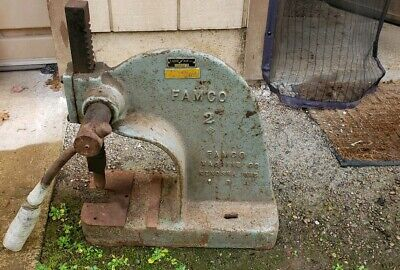 Famco No 2 Arbor Press Industrial Machine Mades In Usa