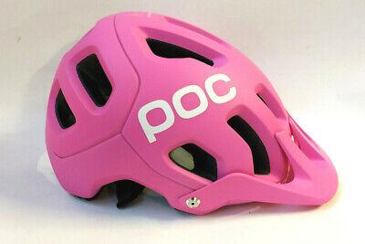 POC Tectal Actinium Pink Matt MTB Helm Bike Helm Gr. M/L Mountainbike