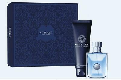 VERSACE POUR HOMME SIGNATURE MENS AFTERSHAVE 100ML EDT & 150ML SHOWER GEL