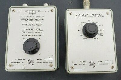 Tektronix Model 2 013-0028 Vintage Timing Standard S-30 Delta Standards