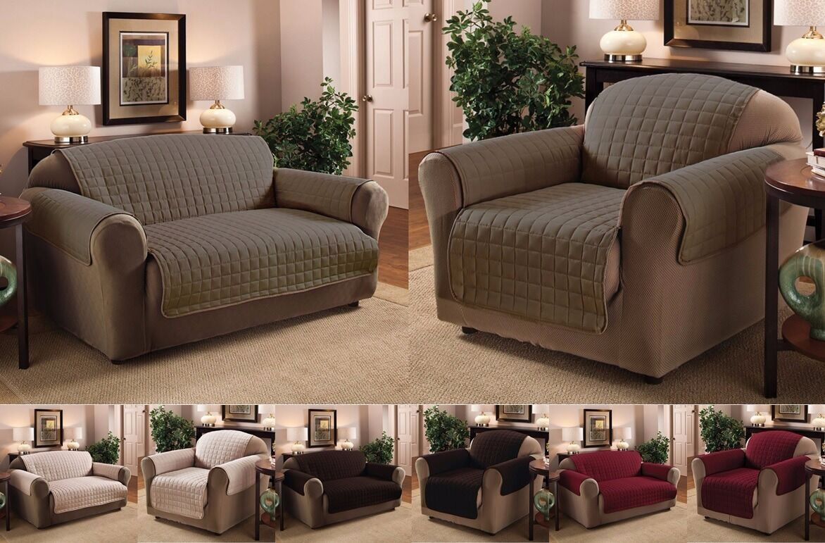 Luxury Quilted Sofa ~ Loveseat ~  ...