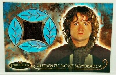 The Lord of The Rings Evolution Pippin's Travel Cloak Memorabilia Costume Card](Cloak Lord Of The Rings)