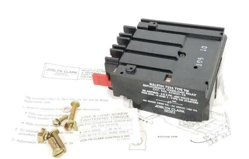 NIB JOSLYN CLARK KTM31-15 OVERLOAD RELAY REPLACEMENT KIT KTM3115