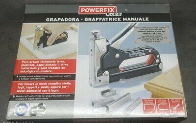 Grapadora manual profesional Nueva Precintada Tapizar Bricolage Herramienta