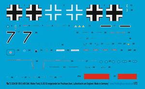 Peddinghaus-1-72-3334-Bf-109-E-4-B-Oblt-Walter-Field-8-JG-53-hacia-Lanzamiento