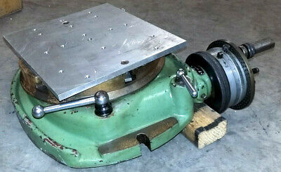 Walter Rotary Table With Dividing Plates R1250tg 3116 10 Inch Table