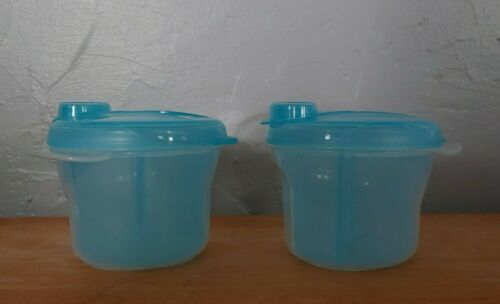 2 Philips Avent 3 doses, divided, blue Formula or snack containers Flip top cap
