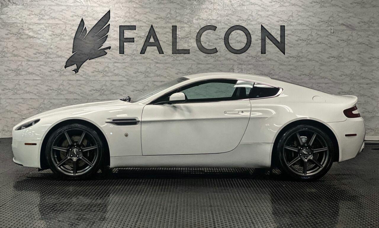 2008 Aston Martin V8 Vantage Base 2dr Coupe