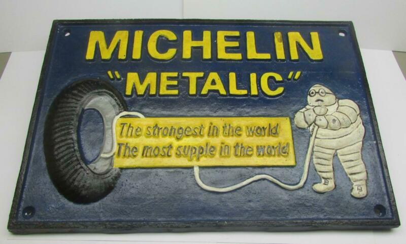Very Nice Michlin Metalic Cast Iron Sign