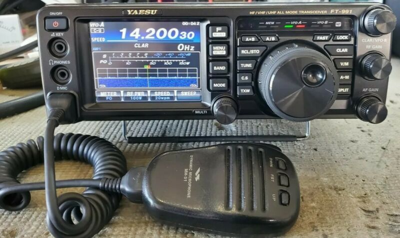 Yaesu FT-991 Ham transceiver radio fully working