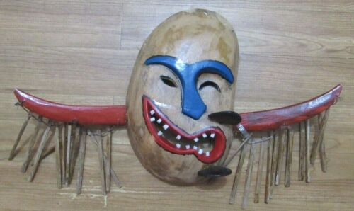 """Old Inuit / Inupiaq/ Arctic Mask large 18"""" span"""