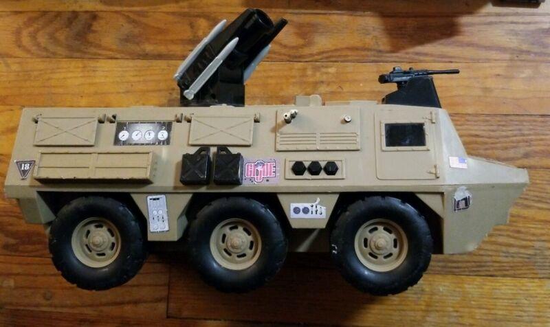 GI Joe Motorized Armored Personnel Carrier  2003 Rocket Firing from Hasbro
