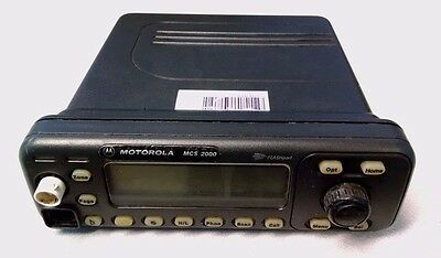 Motorola Mcs2000 Mobile Model Ii Flashport 800 Mhz Radio M01ugm6pw6an M01hx822w