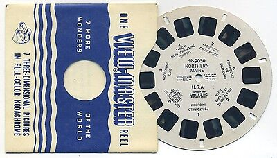 SP-9050 Northern Maine USA 1950 View-Master SP Single Reel