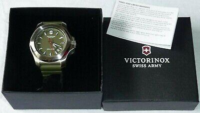 Victorinox INOX Wristwatch Green Dial  241683.1