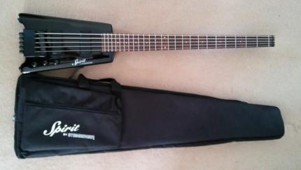 STEINBERGER XT-25 5 String Headless Bass Black (mint)