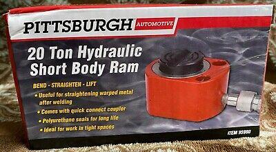 20 Ton Hydraulic Air Short Pump Lift Ram Body Welding Porta Power Jack 95980
