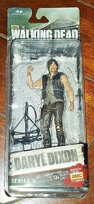 The Walking Dead: DARYL DIXON Series 6 Action Figure with Crossbow & Knife!