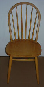 solid pine Colonial Wood Chair :Very Sturdy&Comfortabe:As shown