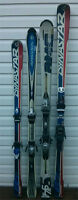 Used skis, snowboards, snow blades and boots for sale and trade