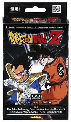 Panini Dragon Ball Z 2014 Starter Deck X1 New / Sealed
